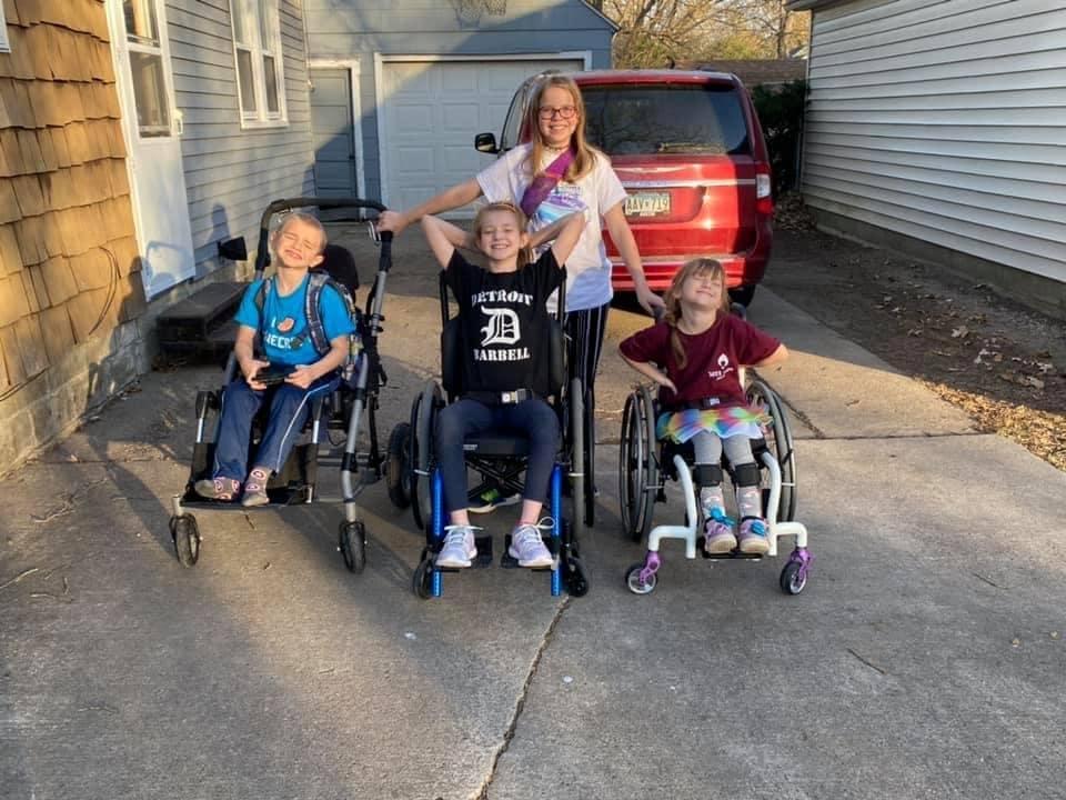 childrens-organization-of-lending-equipment-cole-borrow-equipment-2-wheelchairs-equipment